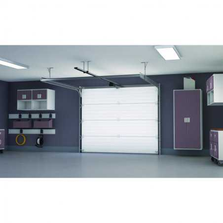 Porte de garage sectionnelle en kit pr mont e porte de for Porte de garage sectionnelle prix discount