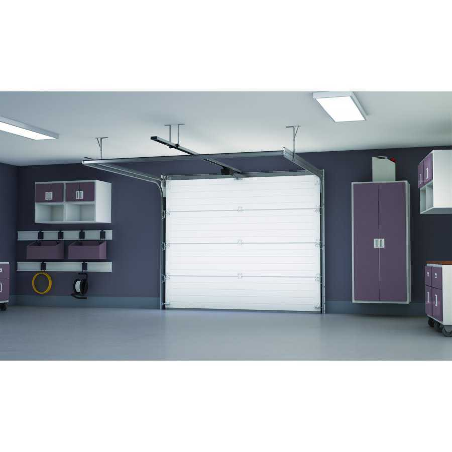 Porte de garage sectionnelle en kit pr mont e porte de for Porte de garage en promotion