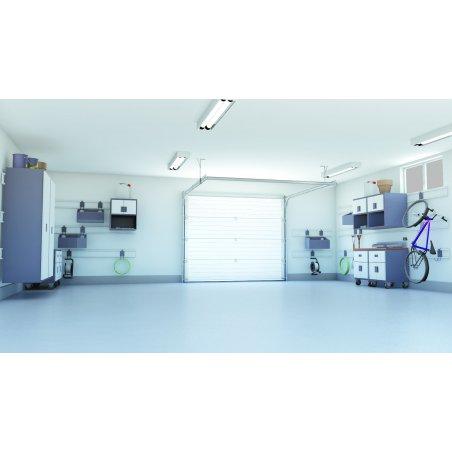 Porte de garage sectionnelle prémontée Plafond facile à installer