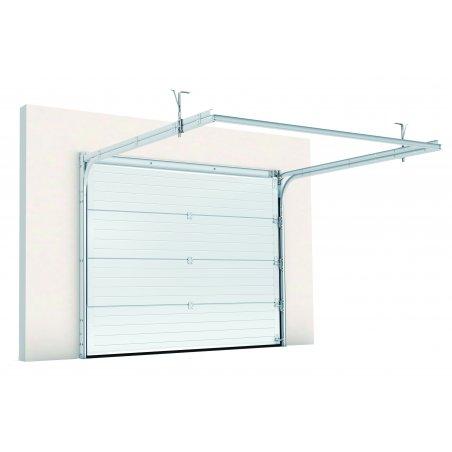 Porte de garage sectionnelle prémontée Plafond avec ses accessoires au choix