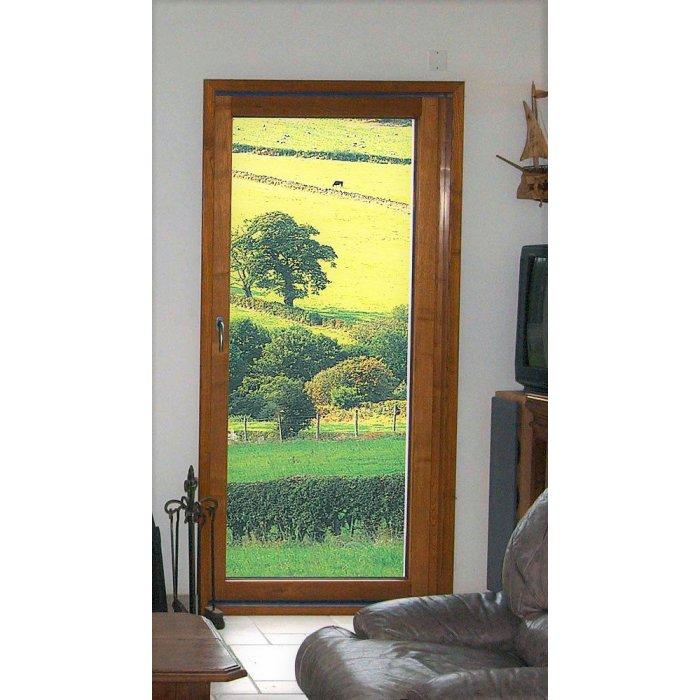 Porte Fenêtre Bois 1 Vantail