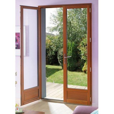 Porte Fenêtre Bois 2 Vantaux
