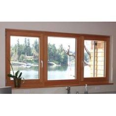 Fenêtre bois 3 Vantaux