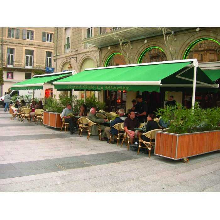 Store Terrasse double pente XXL Motorisé