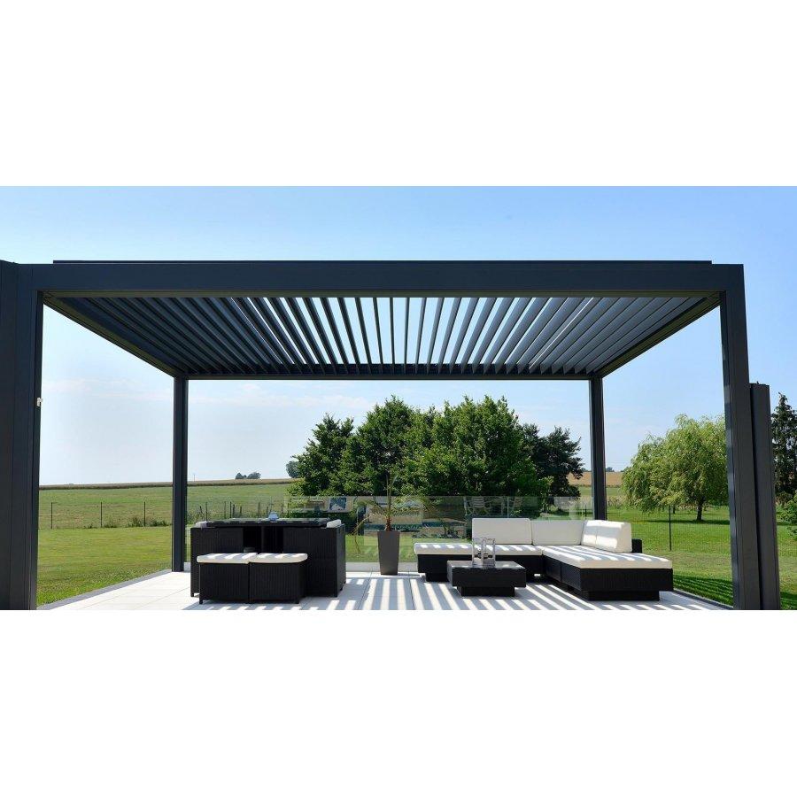pergola bioclimatique auto port e pas cher direct usine. Black Bedroom Furniture Sets. Home Design Ideas