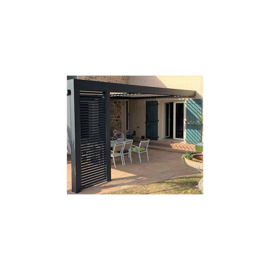claustra lames orientables horizontales. Black Bedroom Furniture Sets. Home Design Ideas