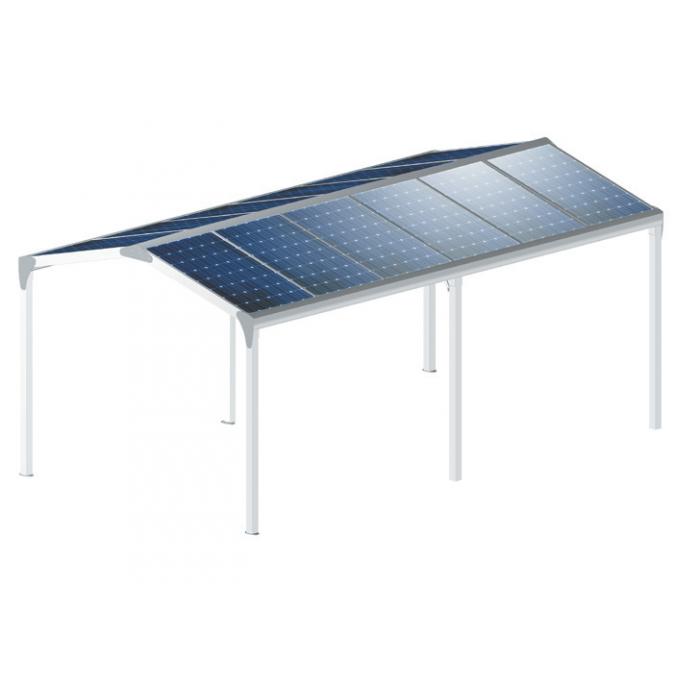 pergola polycarbonate toit double pente pas cher fermeture online. Black Bedroom Furniture Sets. Home Design Ideas