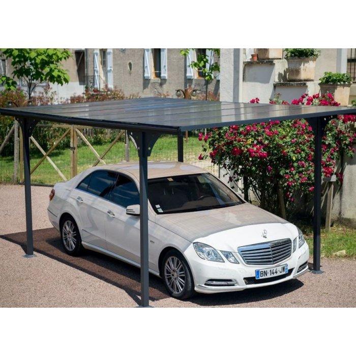 Carport polycarbonate Auto-Portée en Kit