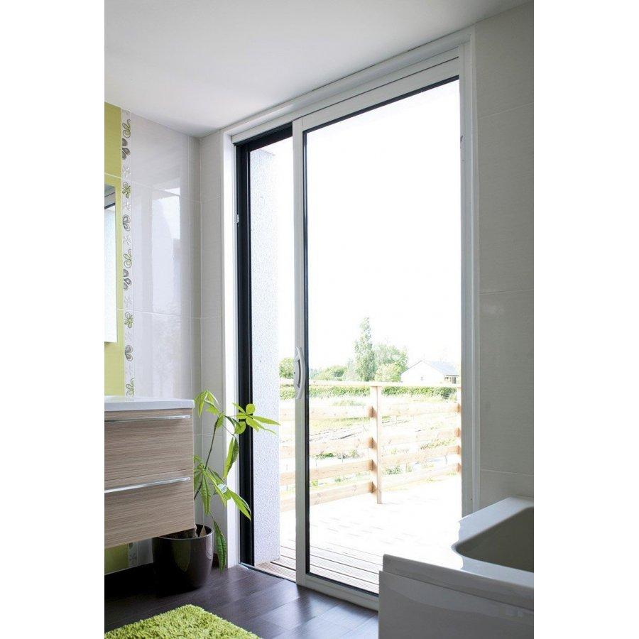 baie coulissante a galandage aluminium 1 vantail pas cher sur mesure. Black Bedroom Furniture Sets. Home Design Ideas