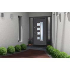 Porte d'entrée PVC LINE