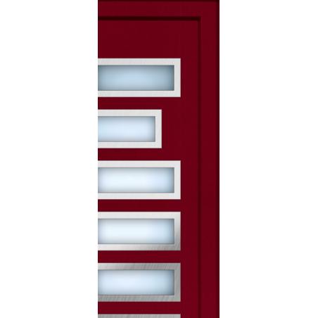 Porte d'entrée aluminium Line