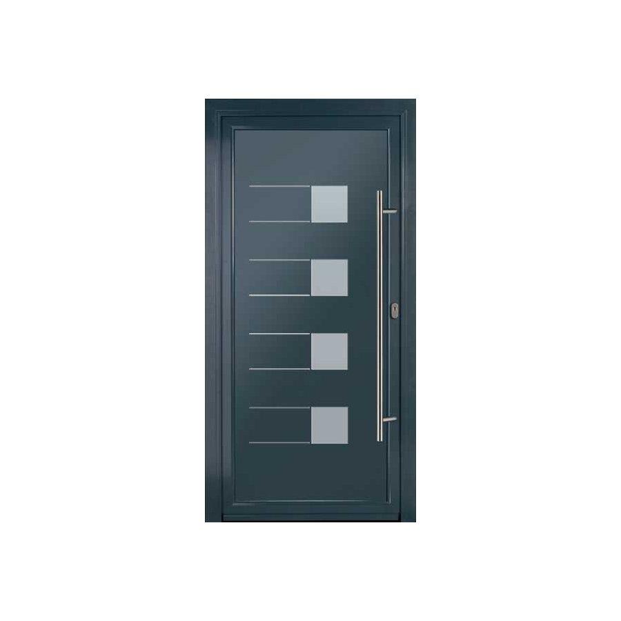 Porte d 39 entr e alu pas cher fermeture online - Portes interieures pas cher ...