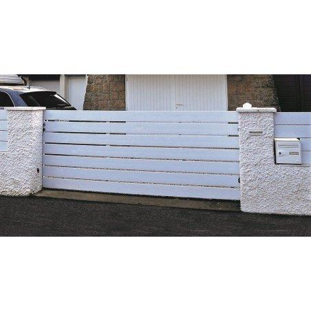 PORTAIL PVC STANDARD BLANC