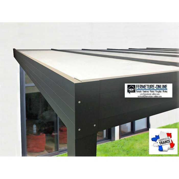 Carport Toit plat panneaux isolant thermotop 32 mm