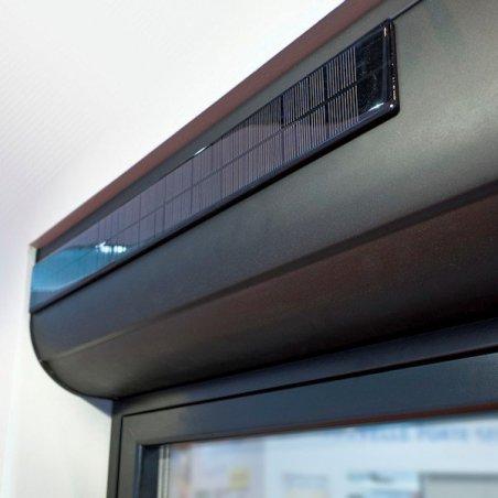 Visualiser le capteur solaire du VR solaire autonome + moustiquaire
