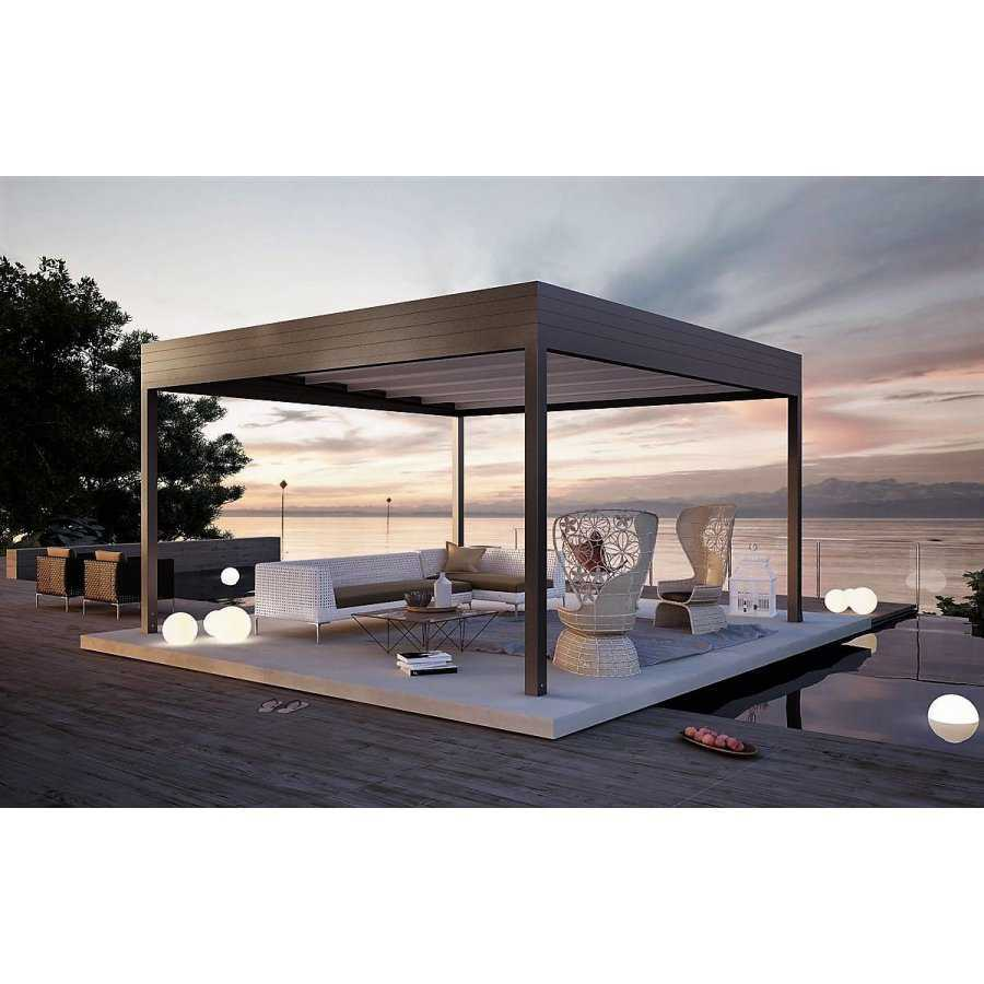 pergola bioclimatique autoportee h3. Black Bedroom Furniture Sets. Home Design Ideas