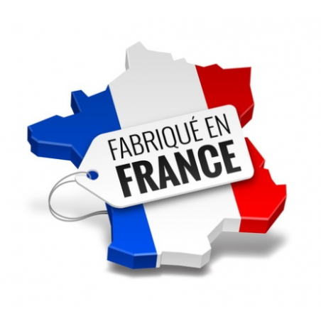 Pergola H2 adossée à lames perpendiculaires spécialement fabriquée en France