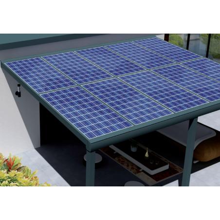 Pergola solaire Adossée haut de gamme pour vous