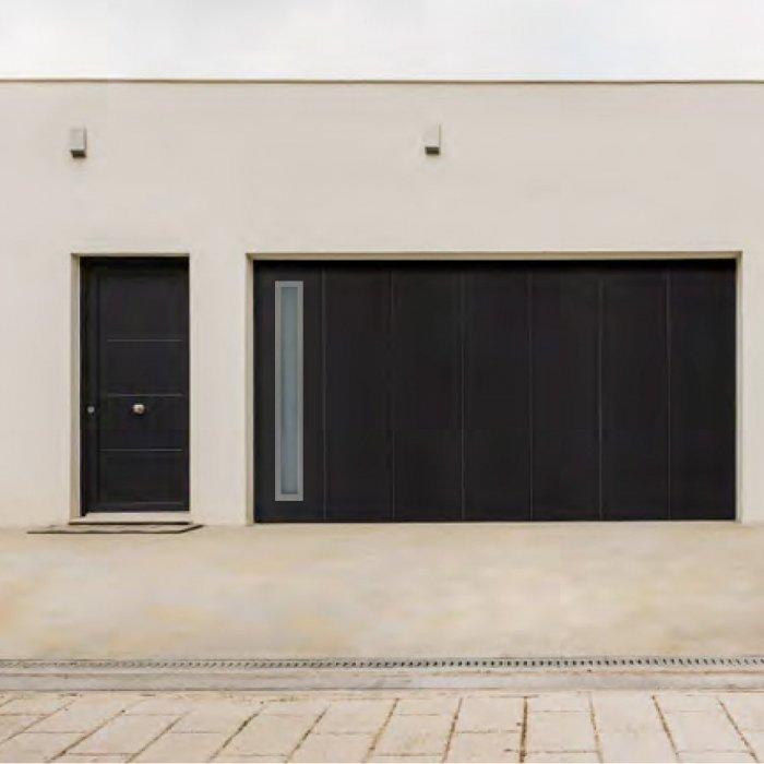 Achetez chez nous votre porte de garage à enroulement latéral