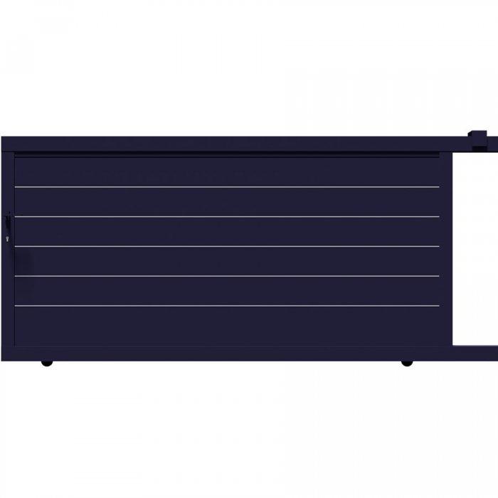 Portail moderne coulissant en aluminium TAY à prix discount