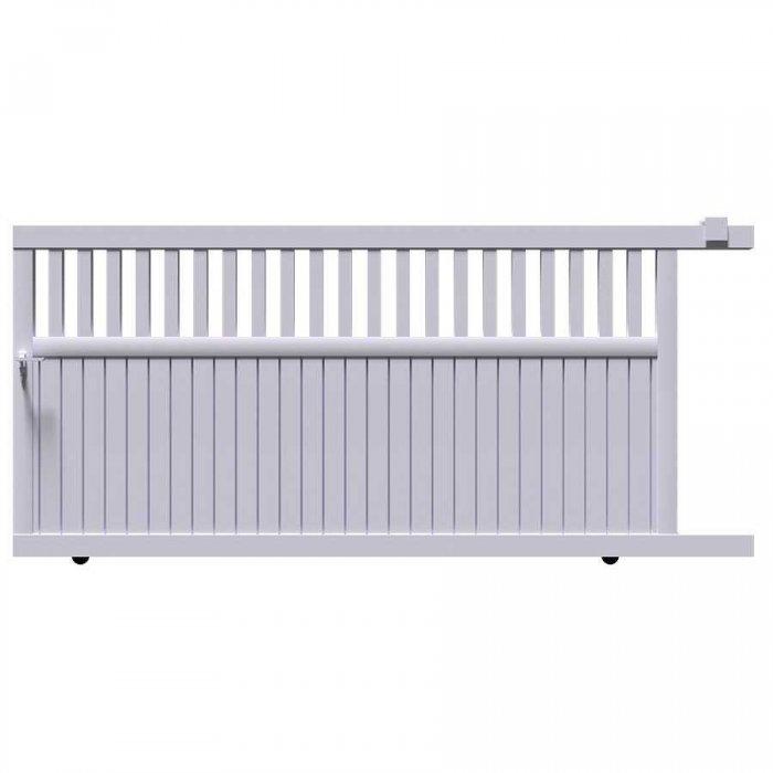 Choisissez votre portail aluminium coulissant DEL au prix le plus bas