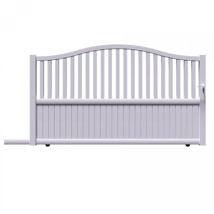 Commandez ici votre portail aluminium coulissant LEV à prix discount