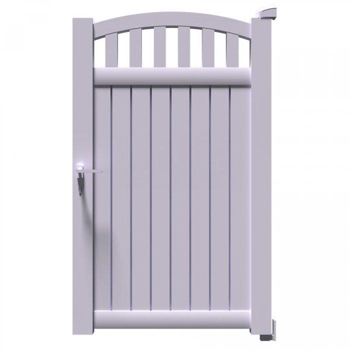 Choisissez votre portillon aluminium battant à 1 vantail ARA au meilleur prix ici