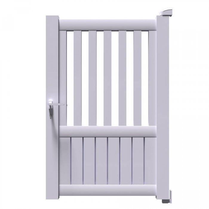 Le vrai portillon aluminium KIN est disponible à vos dimensions