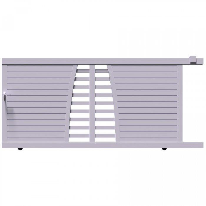 BIKI est le portail coulissant aluminium haut de gamme qu'il vous faut avoir chez vous