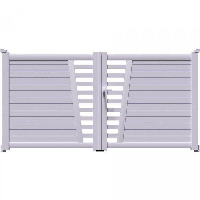 COLN est votre futur portail battant haut de gamme en aluminium