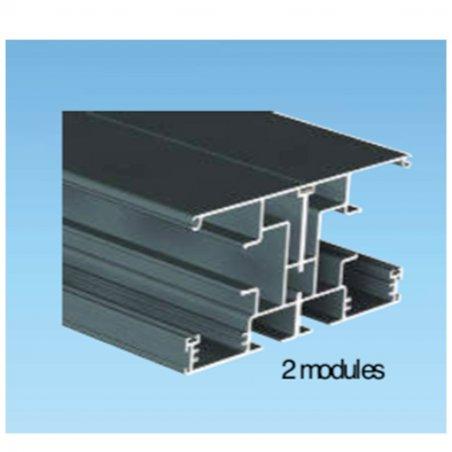 Profil de jonction de module de pergola solaire