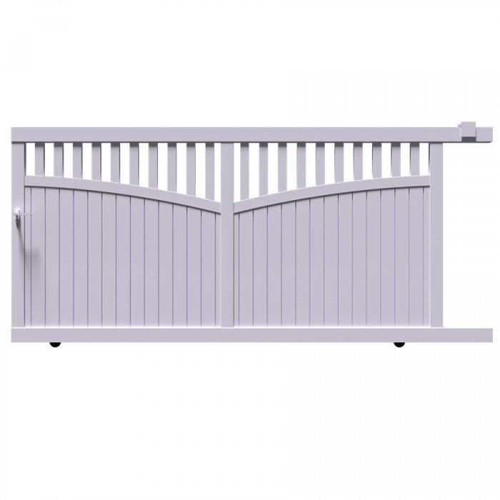 Achetez votre portail aluminium coulissant GO à prix discount au mm précis