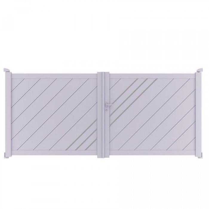 Achetez votre portail aluminium battant LESM à prix discount