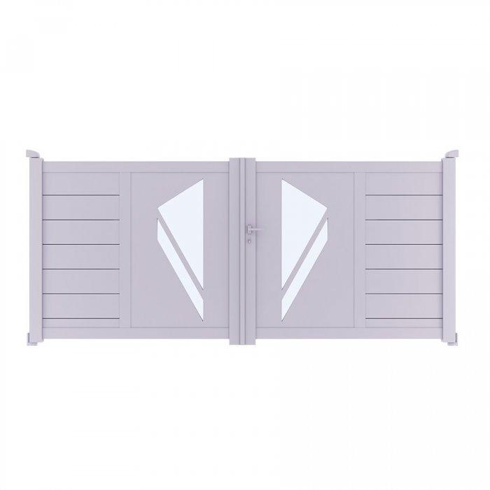 Achetez votre portail aluminium battant PRIBI à prix vraiment discount
