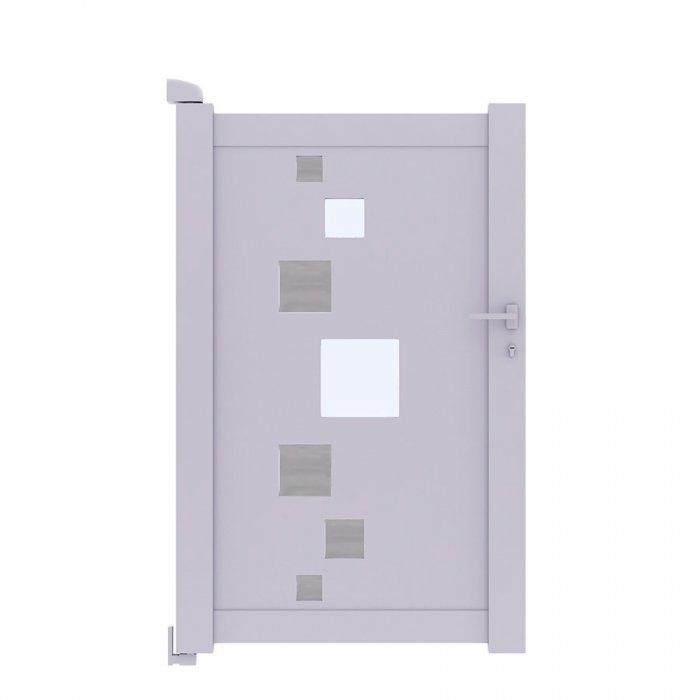 Choisissez vitre le portillon battant SOM moderne et séduisant