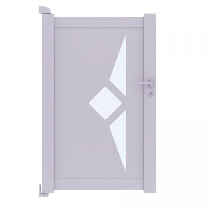 Le portillon aluminium SCILL HAUT DE GAMME vous attends à prix discount