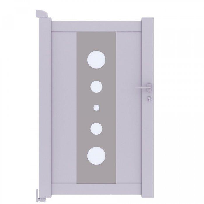 Pour vous le portillon aluminium pas cher et moderne MIL