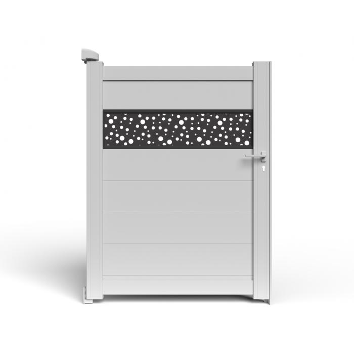 Le trés beau BALERE version portillon aluminium haut de gamme