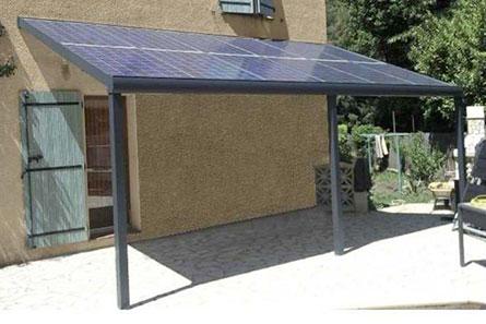 Découvrez notre carport voiture photovoltaïque à prix discount