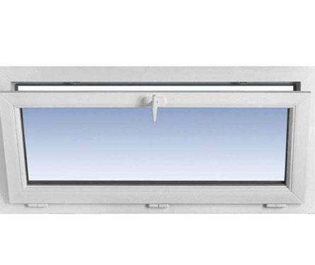 Fenêtre en PVC simple soufflet
