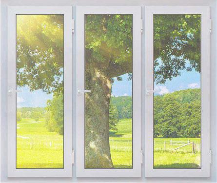 Fenêtre pvc 3 vantaux à prix discount