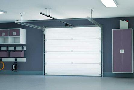 Venez acheter porte de garage sectionnelle preomontee plafond
