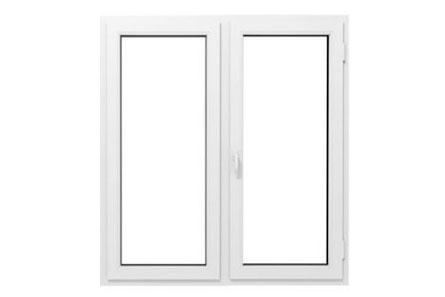 Porte fenêtre en pvc 2 vantaux