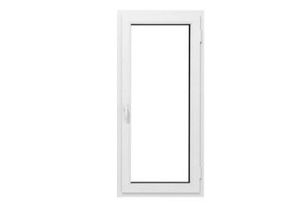 Porte fenêtre en pvc simple vantail