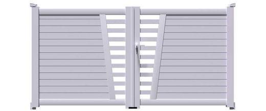 Découvrez notre meilleur selection des portails deux vantaux moderne au meilleur prix