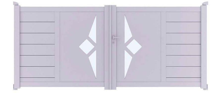 Envie d'acheter un portail design deux ventaux ?