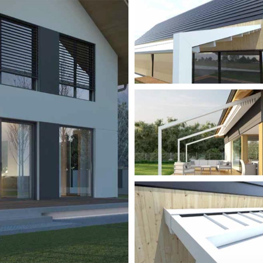 La pergola ETOILES à toit rétractable sous tous les angles !