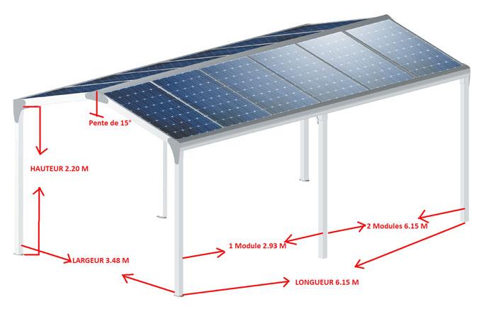Acheter votre carport photovoltaïque