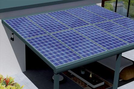 Pergola solaire haut de gamme à prix d'usine