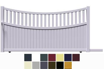 Avec 2/3 plein et 1/3 ajouré le portail classique BEN, coulissant vers la gauche ou vers la droite, est entièrement fabriqué et assemblé avec des profilés aluminium extrudés de haute qualité. Son esthétique correspond à vos attentes alors configurer le rapidement avec votre couleur et vos options.